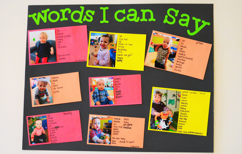 Curriculum - Words I Can Say